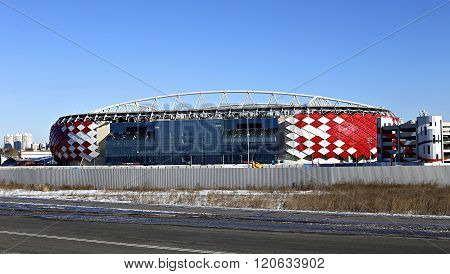 Football Stadium Spartak Opening Arena In Moscow
