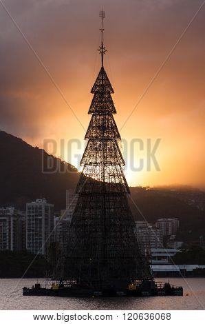 Christmas Tree in Rio de Janeiro