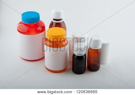 Medical Plastic Bottles For Pills And Capsules