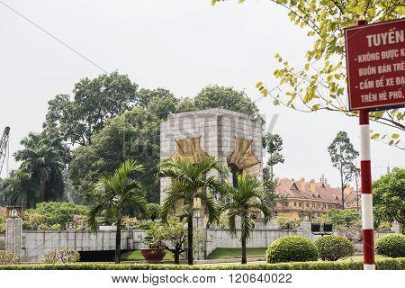 Imperial Citadel in Hanoi