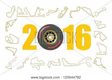 F1 Formula 1 Grand Prix  2016 Concept