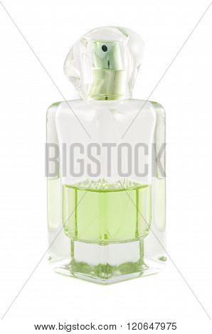 Half Empty Bottle Of Perfume