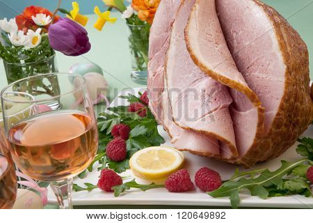 Easter Ham And Raspberry