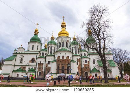 Traditional Ukrainian Festival Of Easter Eggs (pysanka) In Kyiv, Ukraine