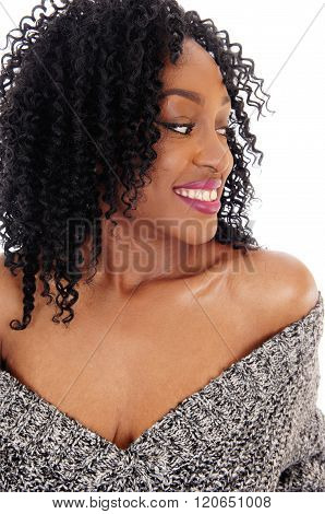 Gorgeous African American Woman.