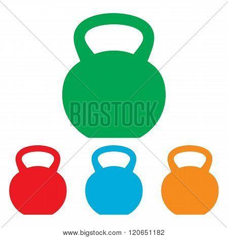 Fitness Dumbbell sign
