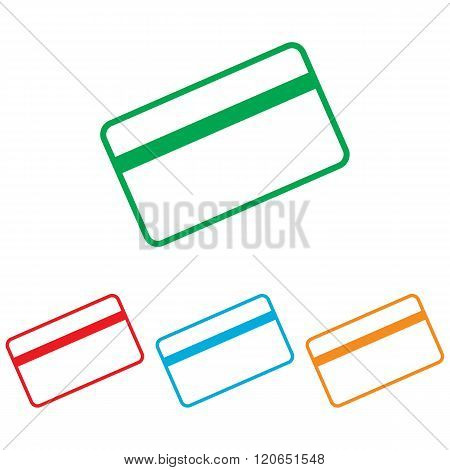 Credit card symbol for download