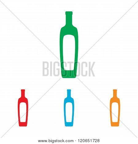 Olive oil bottle sign