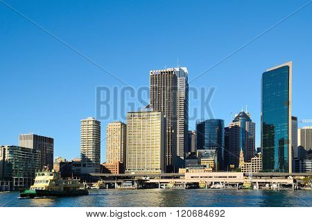 Sydney Circular Quay In The Morning