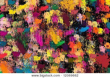 colourful backdrop