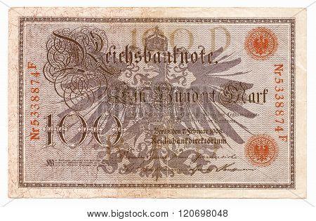 100 Mark Vintage