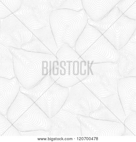 Vector Pattern - Geometric Seamless Simple Black And White Modern Texture - Amorphous Figures