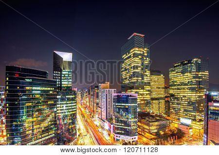 Cityscape Of South Korea.