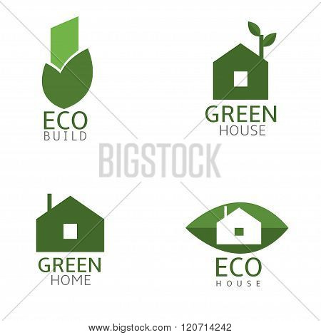 Green Biuld icons