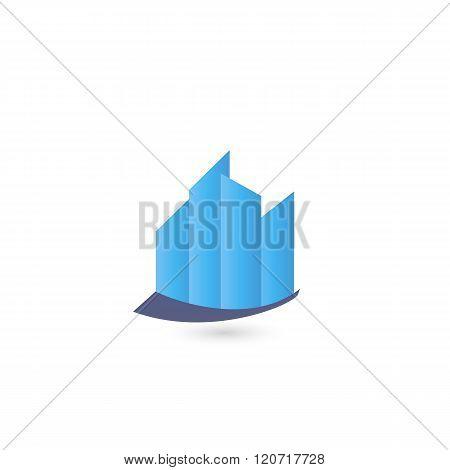 Logo template real estate