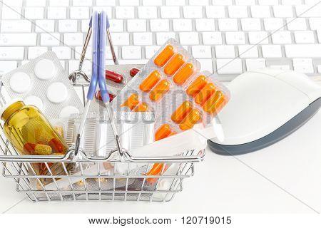 Online pharmacy on-line chemist's shop