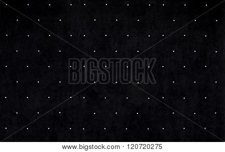 Black velvet background  with crystals