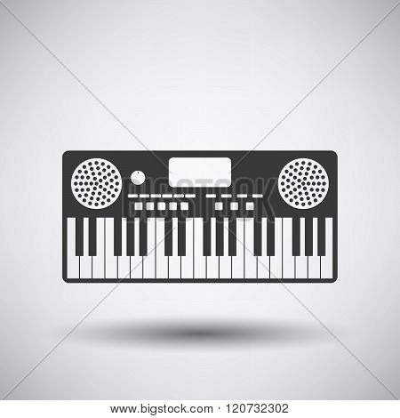 Music Synthesizer Icon