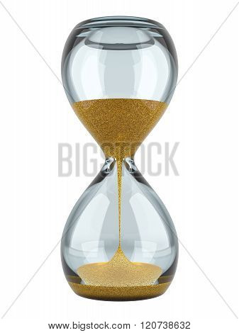 Hourglass With Gold Sand