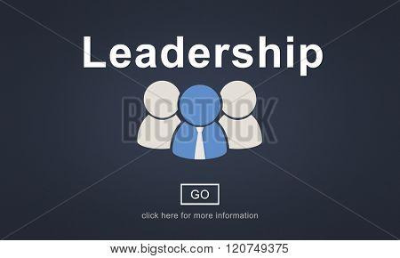 Leadership Boss Coach Director Authoritarian Concept