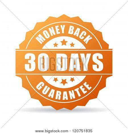 30 days money back guarantee icon