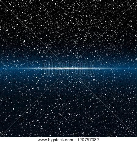 Vector background. Starry night Sky. Eps 10.