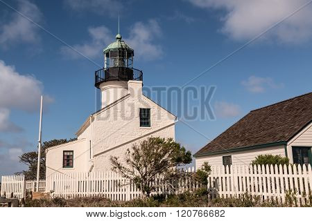 Old Point Loma Lighthouse and Outbuildings