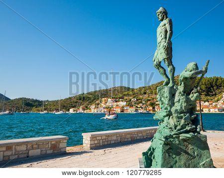 The Statue Of Odysseus
