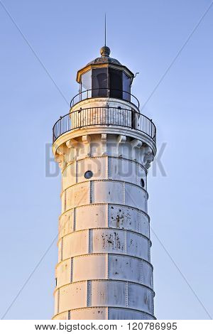 Cana Island Lighthouse Morning Glow
