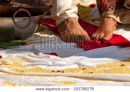 Hindu Wedding ceremony, a long process for the family