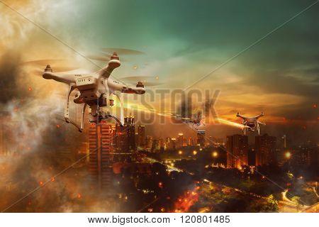 Drone Wars Concept