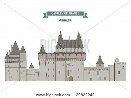 Vitre Castle, France