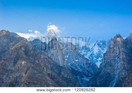 Idyllic Mountain Valley