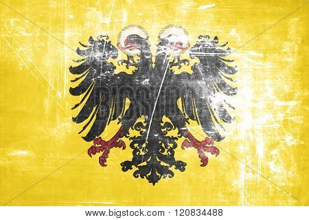 Holy roman empire with some soft highlights and folds poster