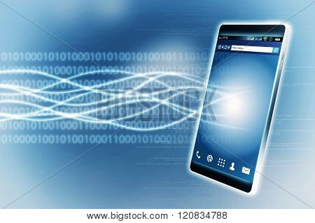 Broadband Internet Smart Phone