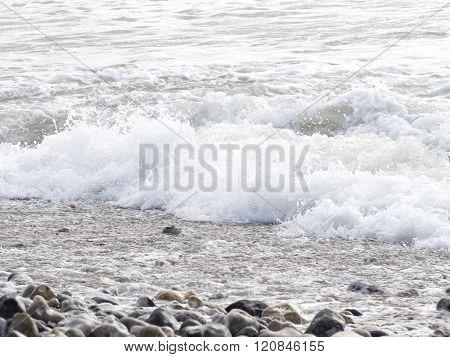 Sea ocean wave France Manche