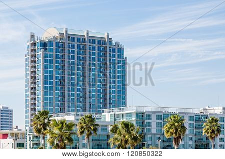 Tropical Low Rise And High Rise Hotels
