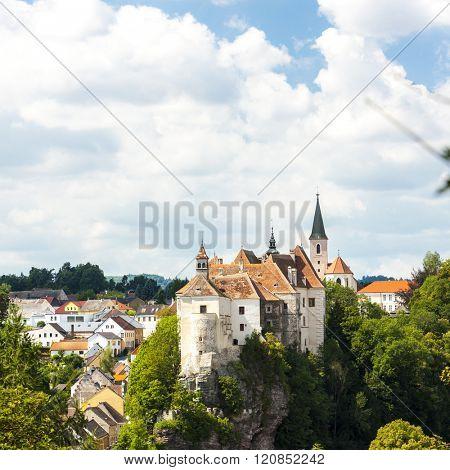 Castle of Raabs an der Thaya, Lower Austria, Austria
