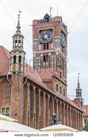 city hall of Torun, Rynek Staromiejski, Kuyavia-Pomerania, Poland