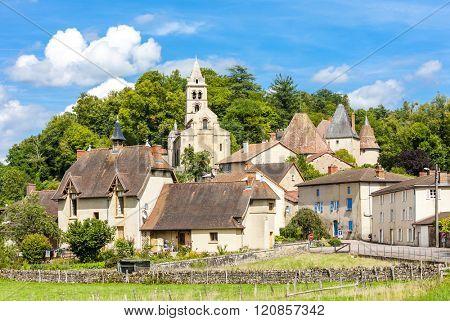 Chateauneuf, Burgundy, France