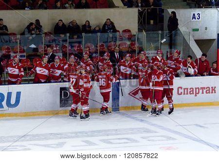 Spartak Team Bench