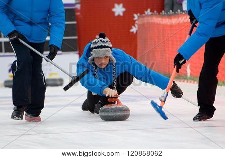 Curling Player Pavel Mishin