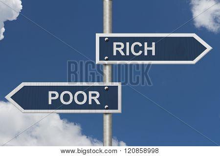 Being Rich Versus Poor