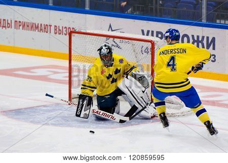P. Andersson (4) And A. Lilljebjorn (30)