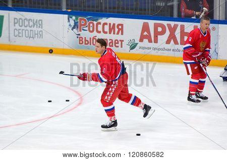Pavel Bure (10) Training