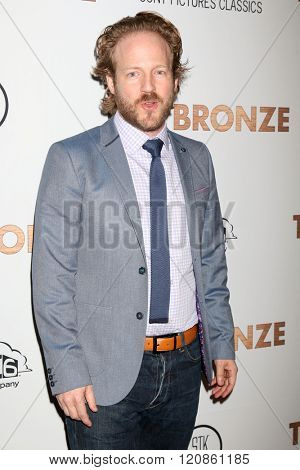 LOS ANGELES - MAR 7:  David Sullivan at the The Bronze Premiere at the SilverScreen Theater at the Pacific Design Center on March 7, 2016 in Los Angeles, CA