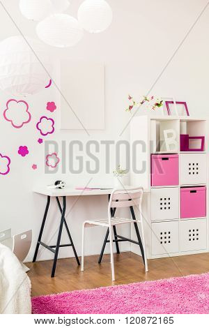 Study Space In Room