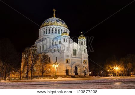 Orthodox Cathedral at night, HDR