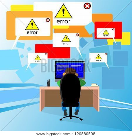 Problem Computer Application Software Error Developer