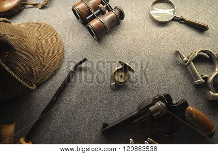 The vintage detective collection